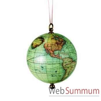 Globe Terrestre Sphère à Suspendre -amfgl031