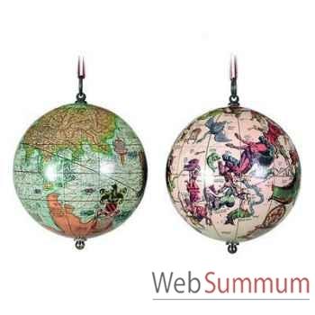 Globe Terrestre Terre et Cieux 1551 -amfgl032