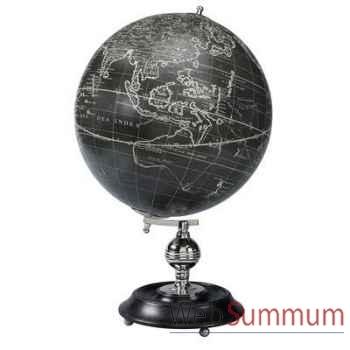 Globe Terrestre Vaugondy 32 cm Noir -amfgl041