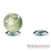support globe terrestre en aluminium amfgl200a