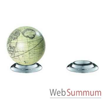 Support Globe Terrestre En Aluminium -amfgl200a