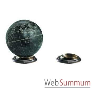 Support Globe Terrestre En Bronze -amfgl200b
