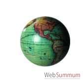 globe terrestre vaugondy couleur 14 cm amfgl213