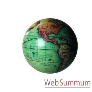 Globe Terrestre Vaugondy Couleur 14 cm -amfgl213
