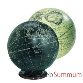 Globe Terrestre Vaugondy Noir 18 cm -amfgl311