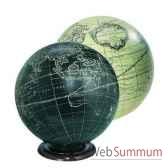 globe terrestre vaugondy ivoire 18 cm amfgl312