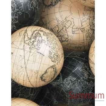 Globe Terrestre Vaugondy Set de 6 -amfgl123