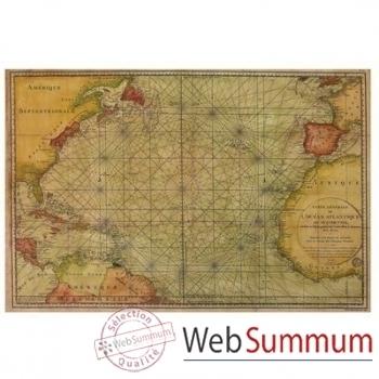 Carte Atlantique 1786 -amfmc752