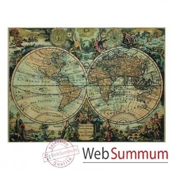 Mappemonde 1627 -amfmc751
