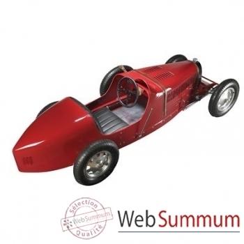 Réplique Voiture Baby Bugatti 1930 Rouge -amfpc002