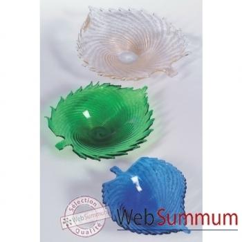 Coupe petite en verre Formia couleur bleue -V21100B