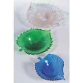 coupe moyenne en verre formia couleur bleue v21107b