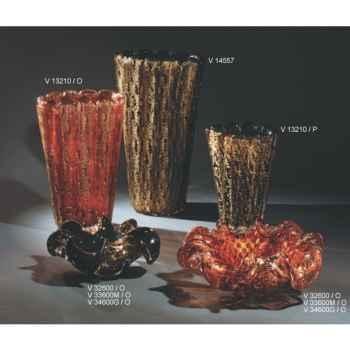 Cendrier en verre Formia -V32600-O