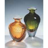 vase en verre formia couleur ambre v14288ba