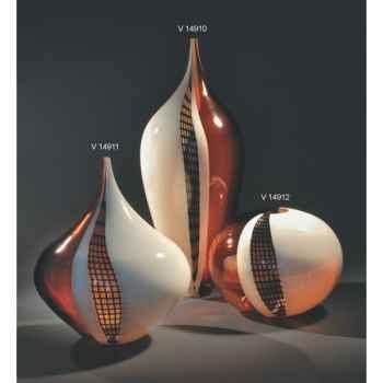 Vase une fleur en verre Formia -V14911