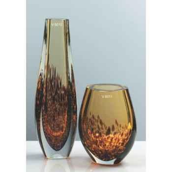 Vase olive en verre Formia -V6011