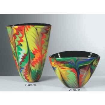 Vase en verre Formia multicolore -V14403-36