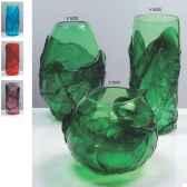 vase olive en verre formia v5002