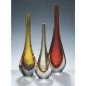 vase goutte en verre formia v11200w