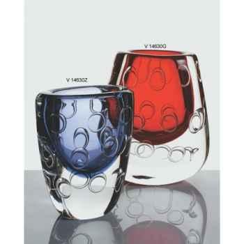 Vase large en verre Formia -V14630G