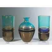 vase bouteille en verre formia v14534