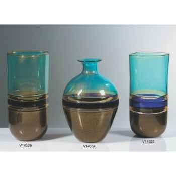 Vase goutte en verre Formia -V14533