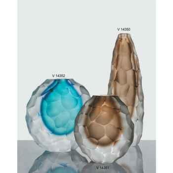 Vase rond en verre Formia -V14351TA