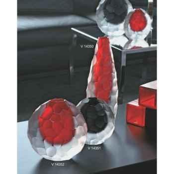 Vase rond large en verre Formia -V14352RN