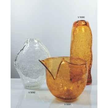Vase LAGU en verre Formia -V5091
