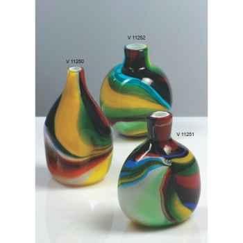 Vase bouteille en verre Formia -V11252