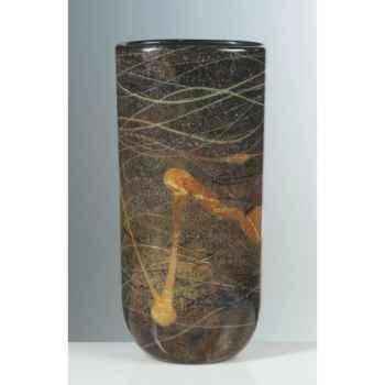 Vase ovale en verre Formia -V14538