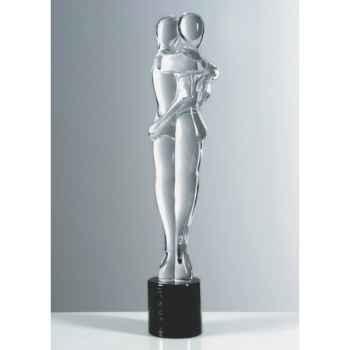 Couple d'amoureux en verre Formia -V03024-CIL