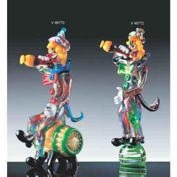 Clown en verre Formia -V46770