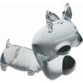 chien en verre formia v02921