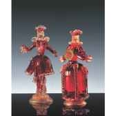 couple goldini en verre formia v46105 m