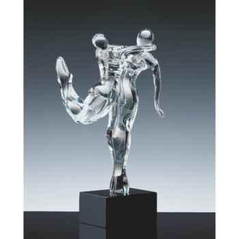 Les gymnastes en verre Formia -V03082S
