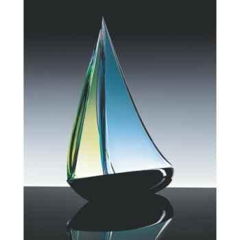 Bateau à voile en verre Formia -V46916
