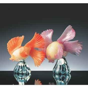 Poisson tropical en verre Formia -V43002