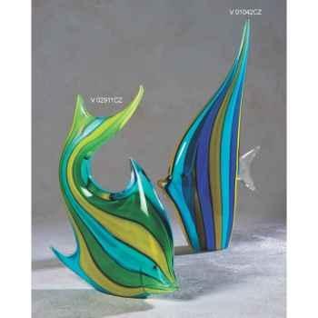 Poisson en verre Formia -V02911CZ