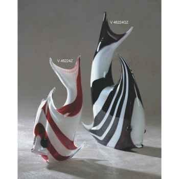 Poisson en verre Formia -V46224Z