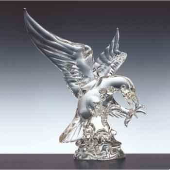 Aigle en verre Formia -V02977