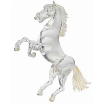 Cheval en verre Formia -V02967