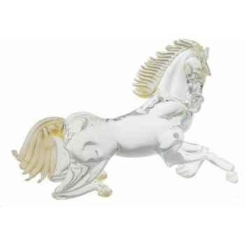 Cheval en verre Formia -V02969