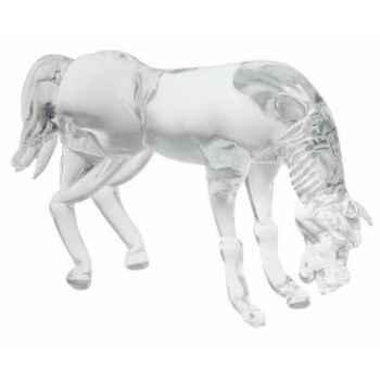 Cheval en verre Formia -V02985