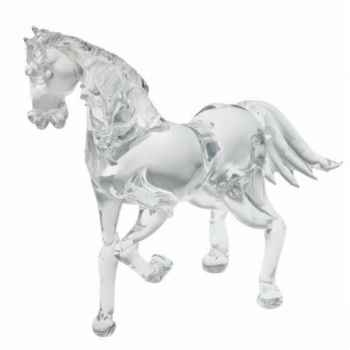 Cheval en verre Formia -V02968