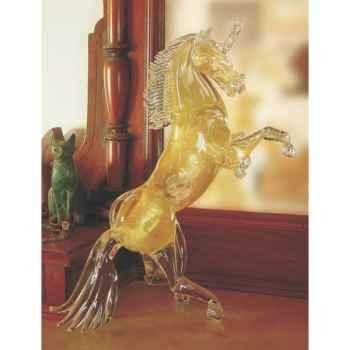 Cheval en verre Formia -V02970