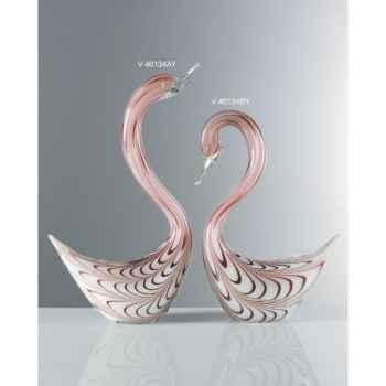 Cygne en verre Formia -V46134BY