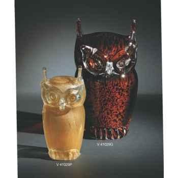 Chouette en verre Formia -V41029P