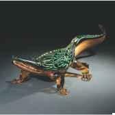 crocodile en verre formia v45121