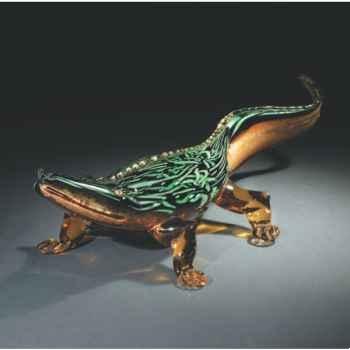 Crocodile en verre Formia -V45121